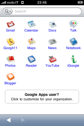 Google App iPhone