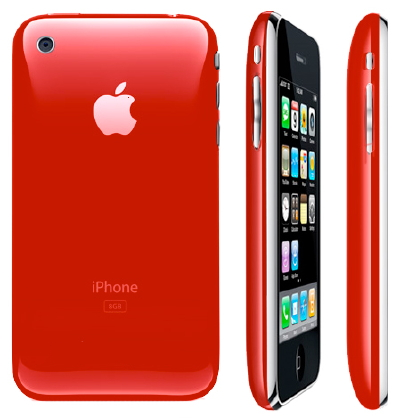 iphone rosso