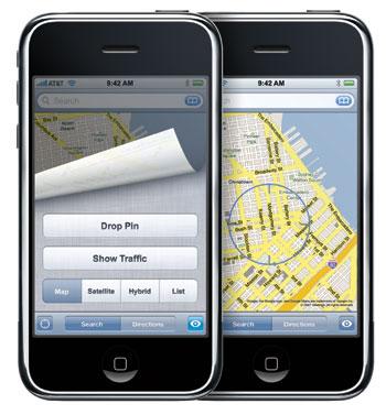 iphone google maps
