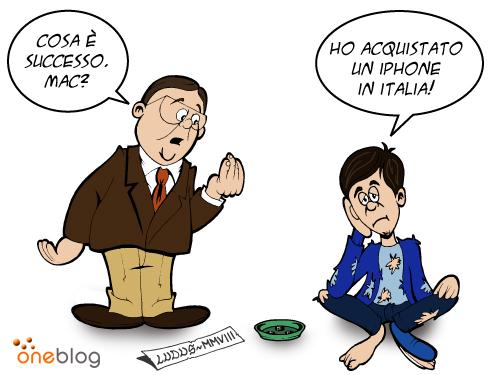 iphone vodafone italia