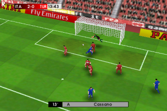 real football 2009 iphone gameplay