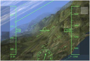 simulatore volo iphone