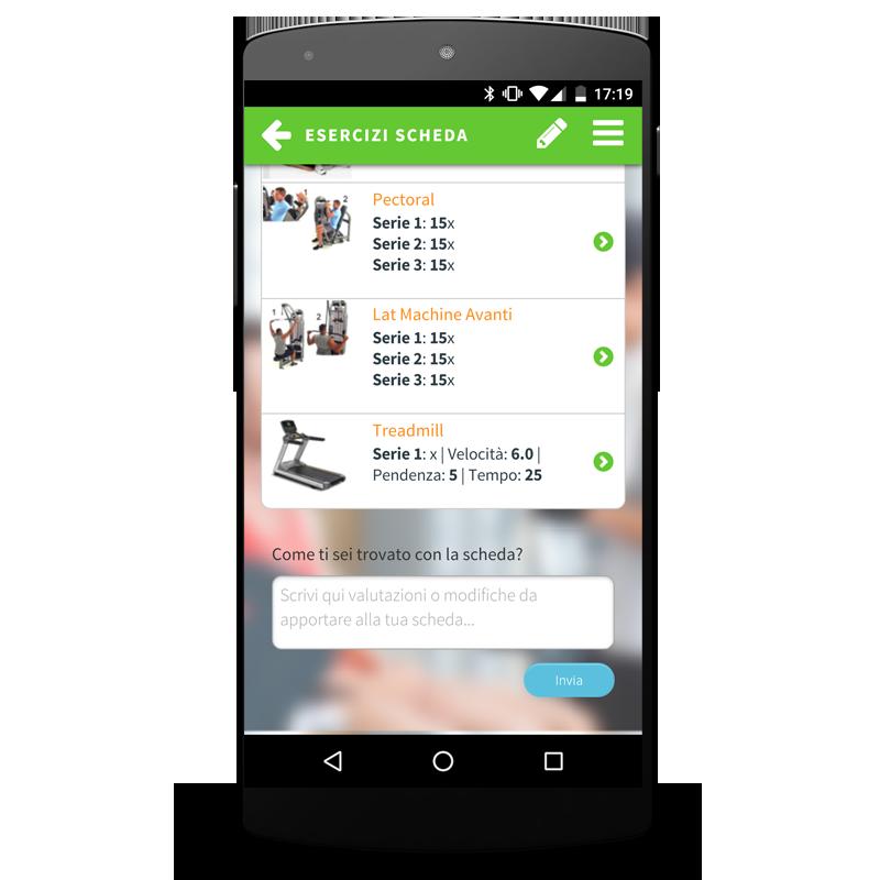 applicazione smartphone